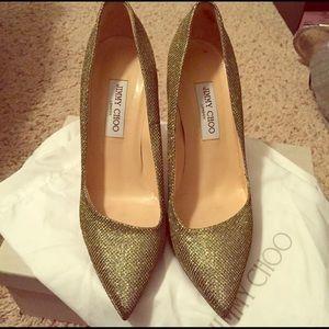Jimmy choo heels size 41 euro. Size 10 US
